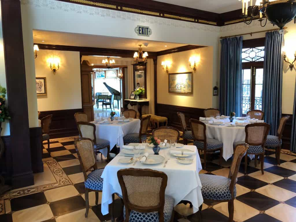 Main Dining Room in Club 33