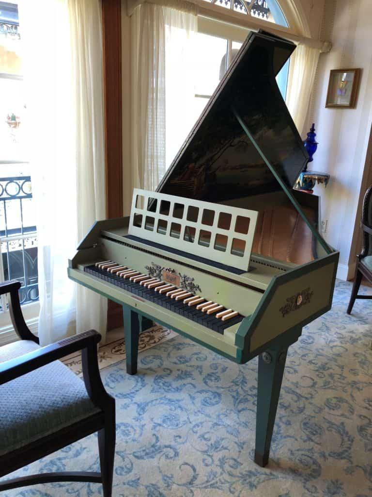 Lillian Disney's Harpsichord