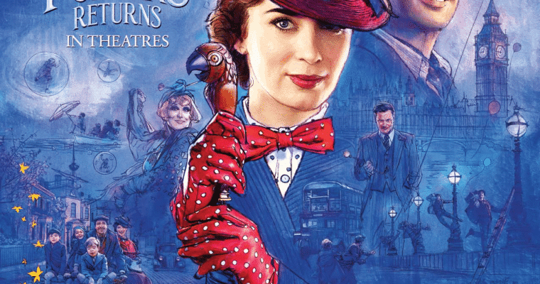 Mary Poppins Returns Family Activity Sheets