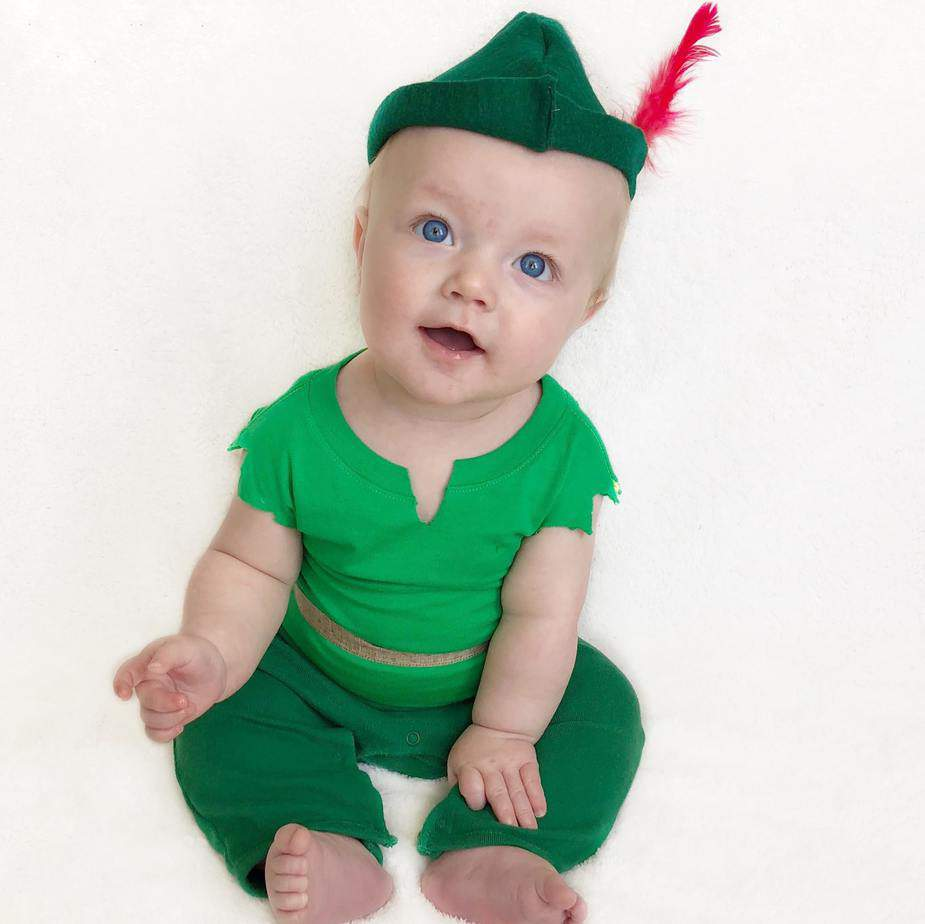 DIY No Sew Peter Pan Costume