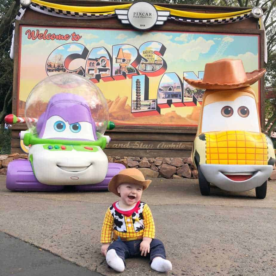 Car's Land Toy Story Cars