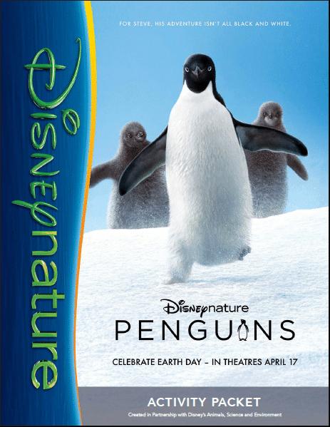 Disneynature Penguins Activity Packet
