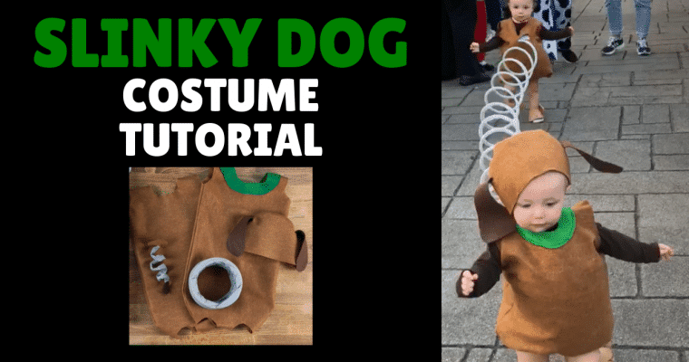 Slinky Dog Costume DIY, A Complete Step by Step Tutorial