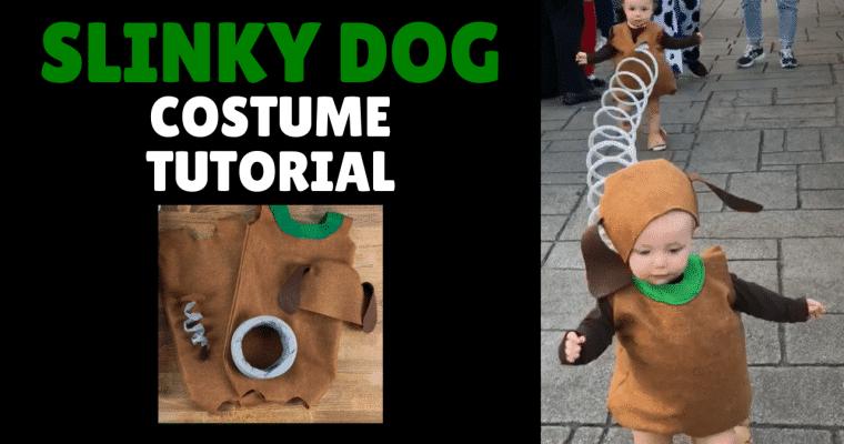 Slinky Dog Costume DIY, A Complete Step by Step Tutorial