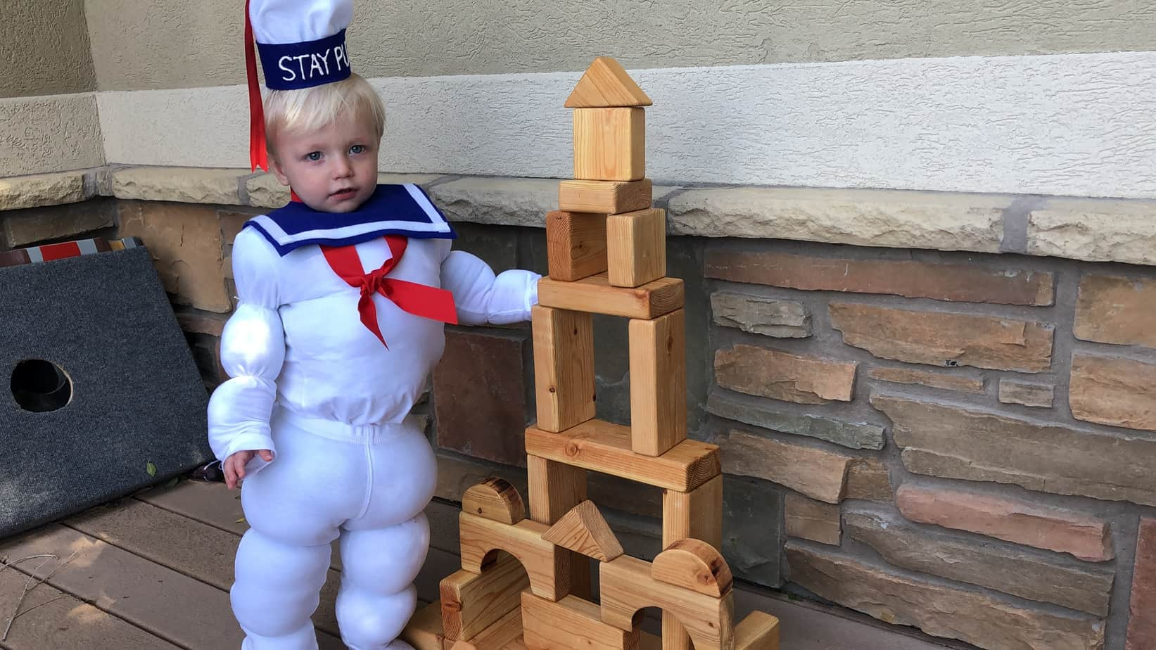 DIY Stay Puft Marshmallow Man Costume, A Complete Step by Step Tutorial