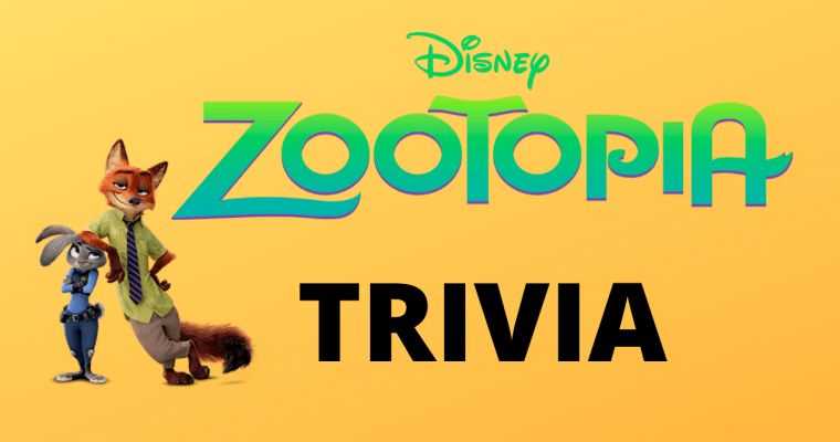 25 Exciting Trivia Questions From Disney's Zootopia