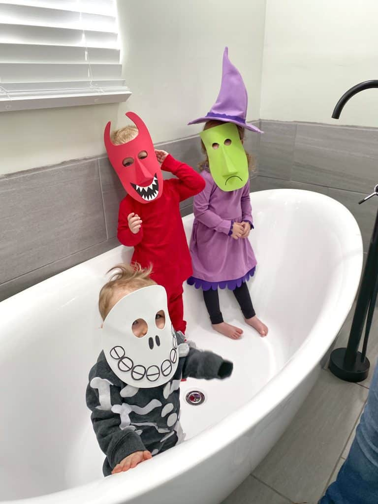 Shock, Lock and Barrel Costumes Inspired by The Nightmare Before Christmas
