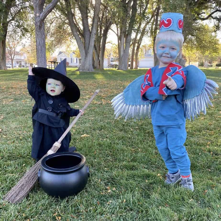 Wicked Witch of the West and Flying Monkey Costumes - The Wizard of Oz